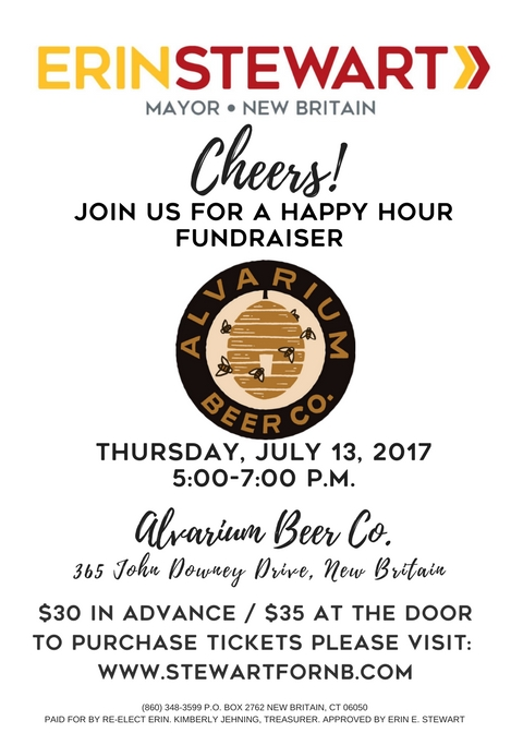 Fundraiser: July 13 Happy Hour at Alvarium Beer Co.