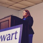 Mayor Stewart kicks off campaign for re-election