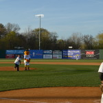 Photos: Mayor Stewart & the Opening Day of the New Britain Bees
