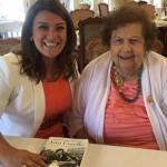 Mayor Stewart Meets Ann Uccello; Political Trailblazer